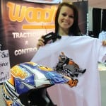 Woody's traction products in conjunction with Braand sold these t-shirts and chance to win a custom painted Fly Racing helmet. Proceeds were donated to spinal research in an effort to help athletes recover and ride again.
