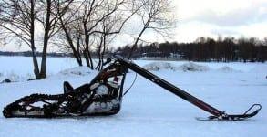 chop snowmobile