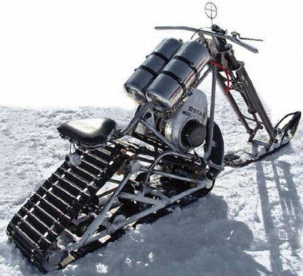 Chopper Snowmobile