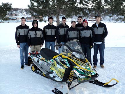 Clarkson University Wins Clean Snowmobile Challenge