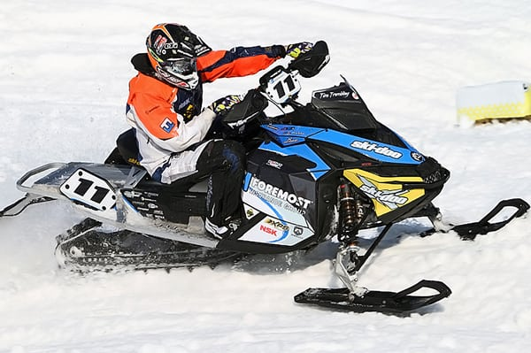 Tim Tremblay named Champion of the 2011-'12 Snocross Series.
