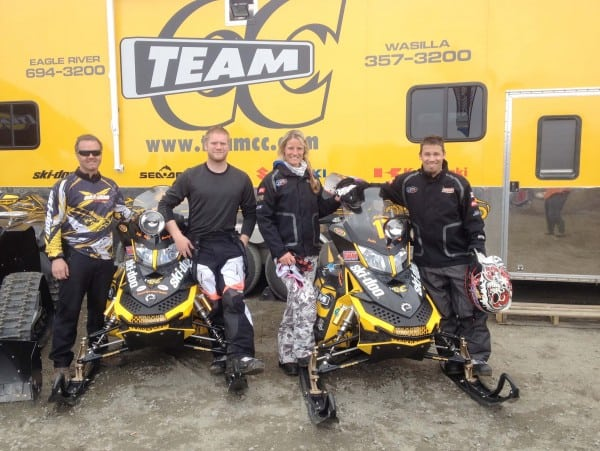 Ski-Doo Riders Aklestad and Thul Win Arctic Man Event