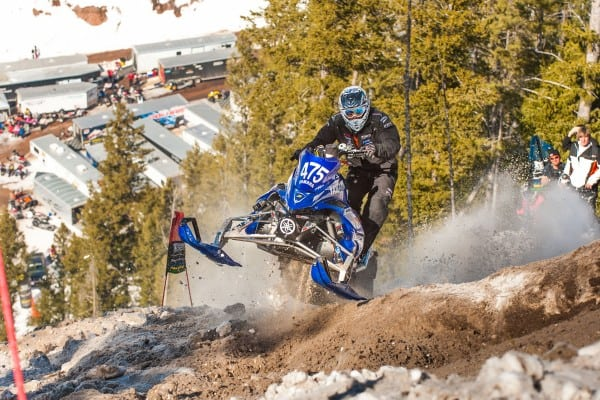 Yamaha Snares Historic Hill Climb Podium Finish
