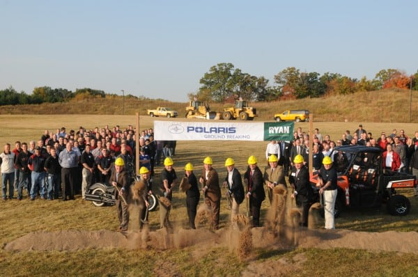 Polaris Expands Its Product Development Center
