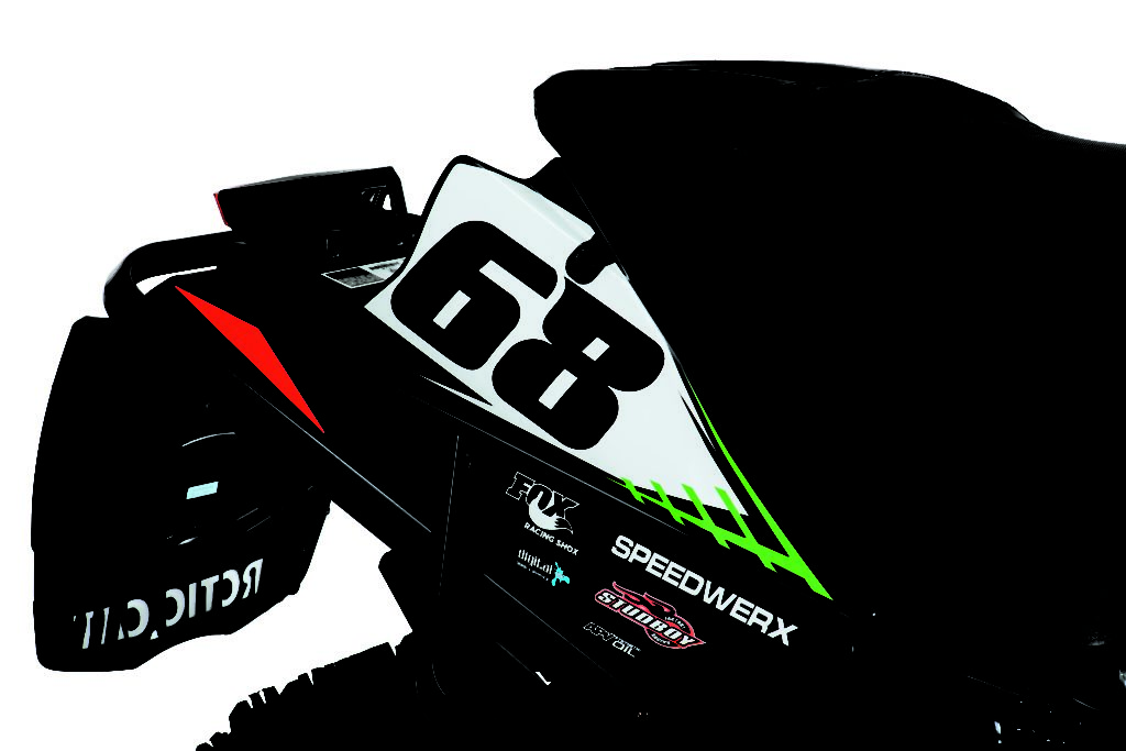 Arctic Cat Snowmobile Number Plates