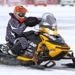 Snocrosser Justin Tate will campaign the cross-country circuit this winter for Ski-Doo. Justin was one of only a handful of yellow buggies in the mix at Pine Lake and he finished 11th.