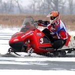 Corey Davidson showed up at Pine Lake with is Soo-500 sled and looked as if he was going to walk away from the pack for the win until a mechanical forced him to record a DNF instead.