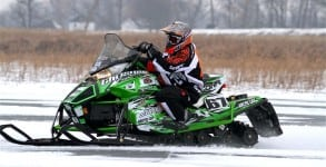 Ryan Simons proved to be the man to beat on the wind swept lake, sweeping the Pro classes.