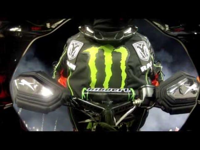 FRIDAY VIDEO – Tucker Hibbert Rips It Up at Canterbury