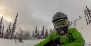 "BONUS VIDEO – Slednecks Rider Kalle ""KJ"" Johansson Rippin Early Snow"