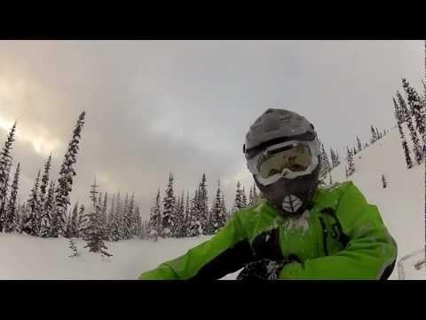 """BONUS VIDEO – Slednecks Rider Kalle """"KJ"""" Johansson Rippin Early Snow"""