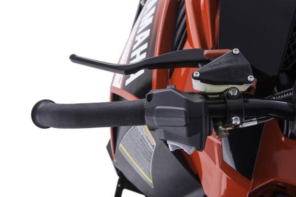 2014 SR Viper RTX SE brake lever