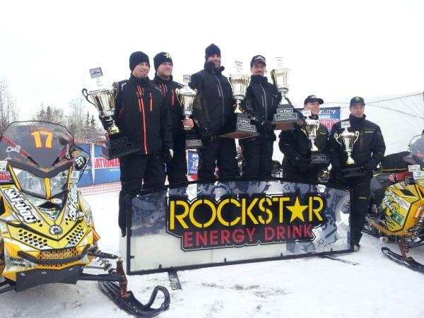 Ski-Doo Racers Capture 4 of 5 Top Spots in Iron Dog