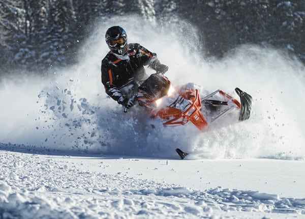 Demo Ride the New 2014 Arctic Cat ProClimb Sleds with Amber Holt