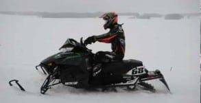 VIDEO BONUS – Tucker Rides, Then Races in Fargo