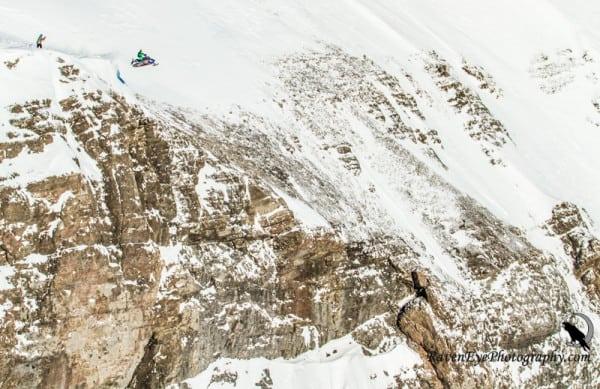 VIDEO BONUS – Crazy Snowmobile Base Jump with Erik Roner
