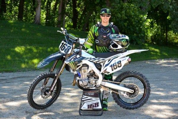 Tucker Hibbert to Race 5 National Motocross Events