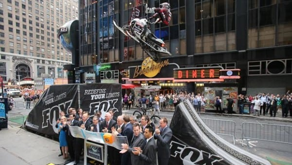 FOX Rings NASDAQ Opening Bell As Levi LaVallee Jumps It