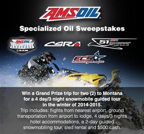 Win Big With AMSOIL!