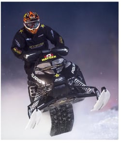 Podiums for Hayden & Rosko-Fong at International Snocross