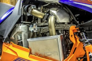 Mountain Performance has been developing the Viper nestled turbo kit for the past year, and the latest tests looked very favorable. Yamaha intends to offer the kit under their spring Power Surge program at a screaming deal. Word is this things pumps out more than 185-ponies…BOOM, that just happened.