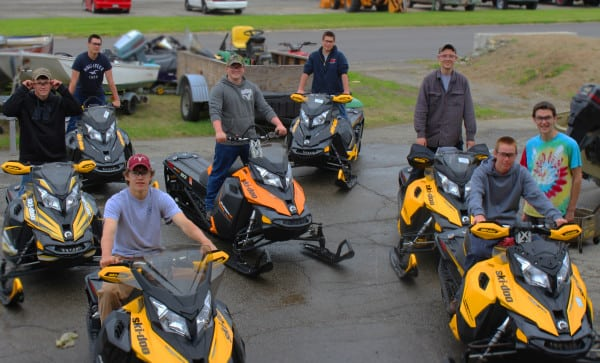 SKI-DOO DONATES SLEDS TO HELP TRAIN FUTURE TECHNICIANS
