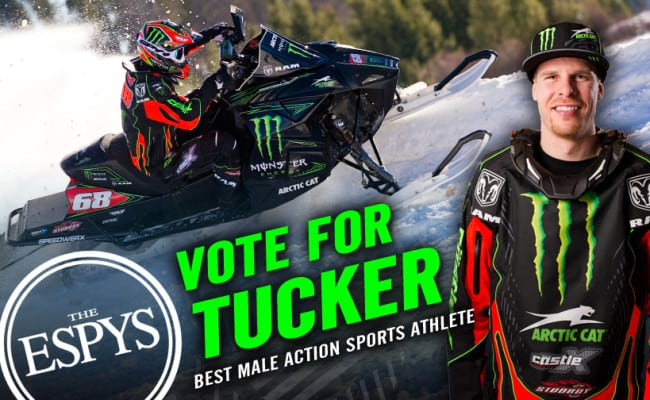 LAST DAY TO VOTE TUCKER FOR ESPY AWARD