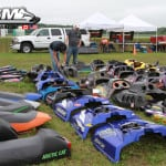 Unlike Haydays, which has become a bit of a flea market, the Outlaw swap is nearly pure snowmobile related.