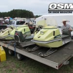 The most Eskimo snowmobiles you will likely ever see in one place.