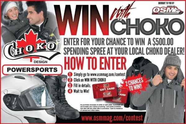 Win with Choko Contest – CLOSED