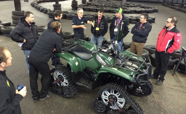 Kimpex Wows Us With New RS4 ATV Track System