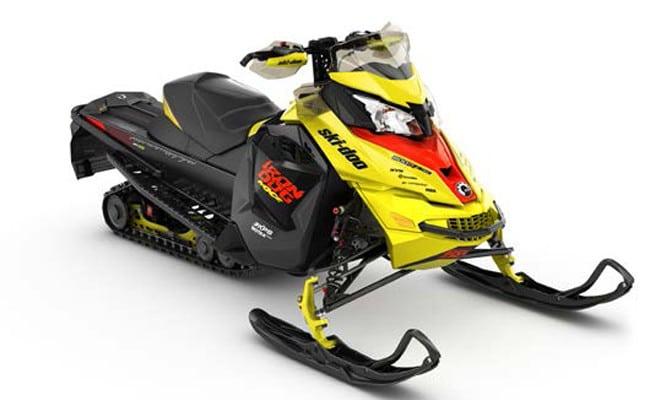 Ski-Doo Releases Limited Build MXZ Iron Dog Special Snowmobile