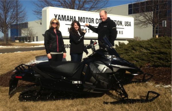 DSG Outerwear and Yamaha announce winner of Ride in Style Sled Giveaway contest