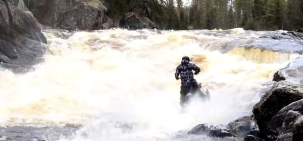 FRIDAY VIDEO – Slednecker' KJ Johansson Running the Rapids