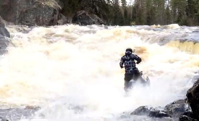 FRIDAY VIDEO – Slednecker' KJ Johansson Running the Rapids