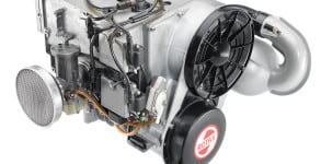First certified Rotax Aircraft Engine_Type 642_Year 1975