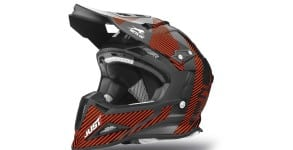 Arctic Cat MX Sno Cross Helmet - Orange front