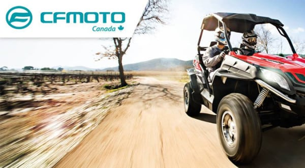 CFMOTO CANADA  RESERVE CORPORATE BOOTH Featuring their New HO Line-up