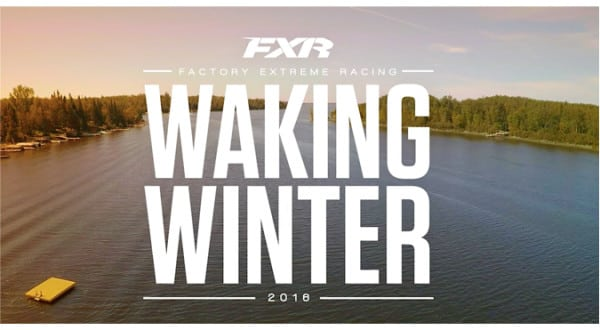 "Have ya seen the new FXR ""Waking Winter"" video?…Well ya better."
