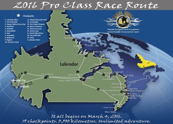 CAIN'S QUEST RELEASES 2016 ROUTE FOR PRO AND TRAIL CLASS
