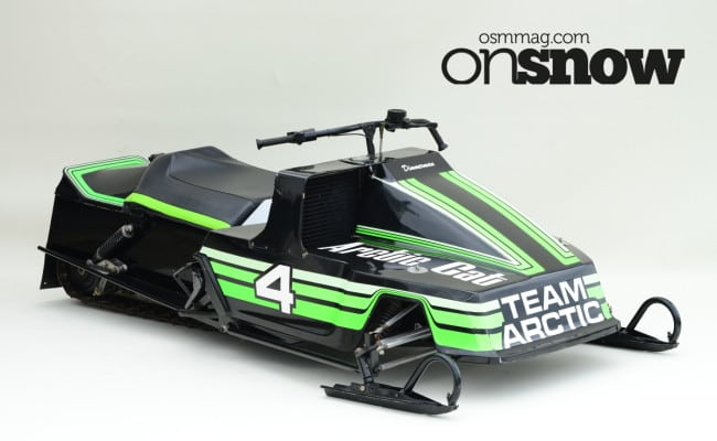 TIME TRACKS – 1980 Arctic Cat Sno-Pro; The Production Racer