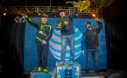 Monster Energy Podium Sweep!  Joe Parsons Gold, Heath Frisby Silver, Brett Turcotte Bronze in Snowmobile Freestyle at X Games Aspen 2016