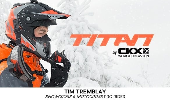 CKX TITAN SNOWMOBILE HELMET UNVEILED.