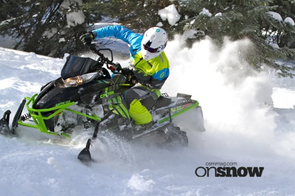 First Ride Review – 2017 Arctic Cat; Does Arctic Cat Have the Fastest and Best Handling Sleds?