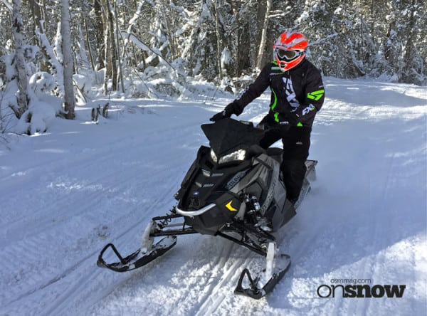 EXTENDED RIDE REVIEW – One on One with the 2017 Polaris Assault; Killer Off-Trail, Better On