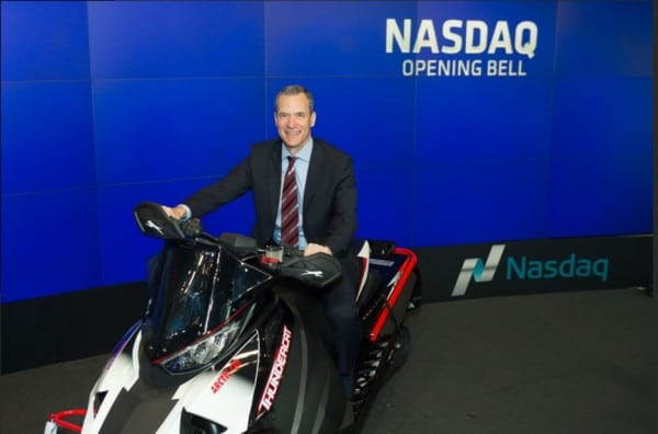 Arctic Cat Rings the NASDAQ Bell With Blistering Speed of the New 2017 Thundercat