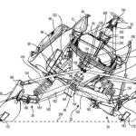 This patent was filed in 2013 by Bombardier. That's Ski-Doo to you and me.