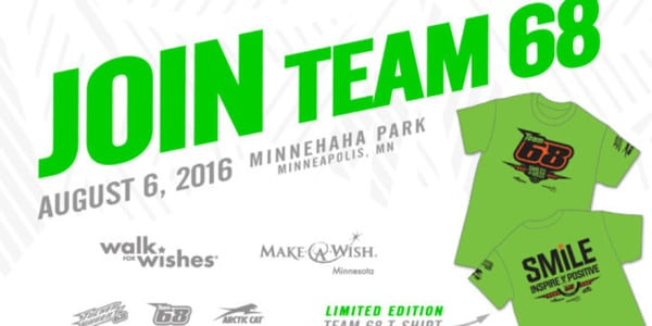 Join Tucker Hibbert for Make-A-Wish Minnesota Fund Raiser and Receive Limited Edition Shirt