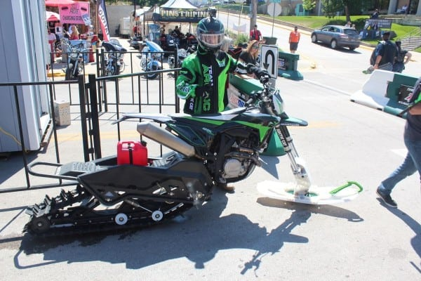 Arctic Cat Snow Bike Spotted…In Sturgis?