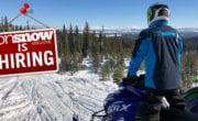ON SNOW MAGAZINE IS HIRING!